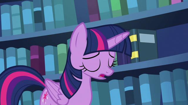 "File:Twilight Sparkle ""it's just not gonna happen"" S6E19.png"