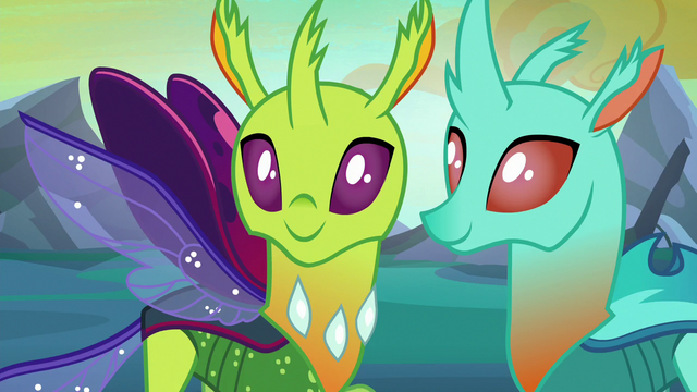 File:New changelings looking happy S6E26.png