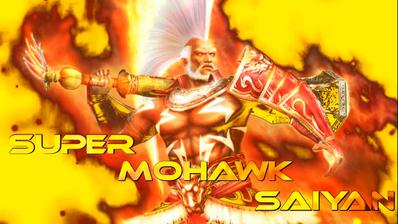 Super Mohawk Saiyan