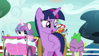 "Twilight ""gained back a whole five minutes"" S7E3"