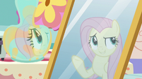 """Fluttershy's reflection """"redecorate this place"""" S7E12"""