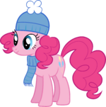 Pinkie Pie Hearth's Warming Eve Card Creator