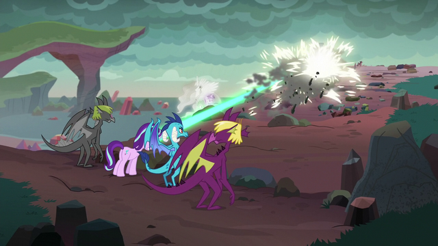 File:Starlight blasts rock sculptures with magic S7E1.png