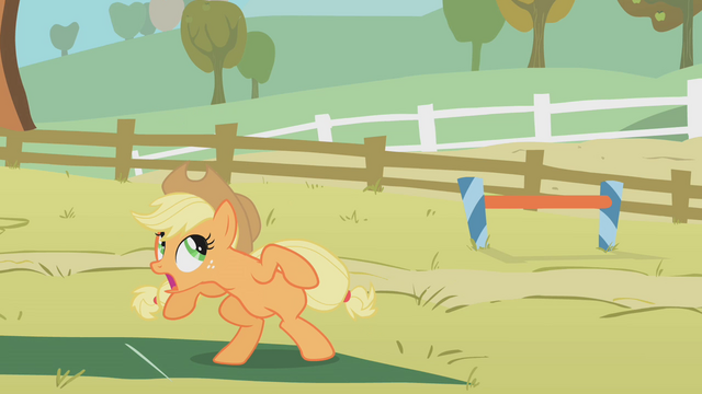 File:Applejack can't do it S01E13.png