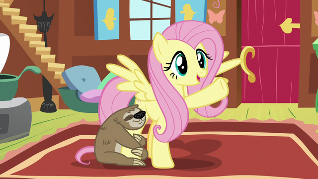 """File:Fluttershy """"animals are my field of expertise"""" S7E5.png"""