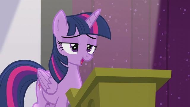 "File:Twilight ""the future of Equestrian magic"" S5E25.png"
