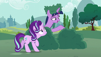 "Twilight Sparkle ""you can come out now"" S6E6"