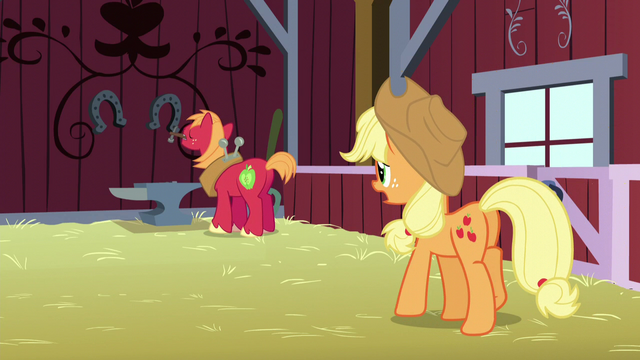 File:Big Mac working on an anvil; Applejack calls his name S5E17.png