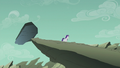 Filly Rarity walking away from the dumb rock S5E25.png