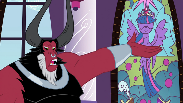 File:Tirek pointing at stained glass window S4E26.png