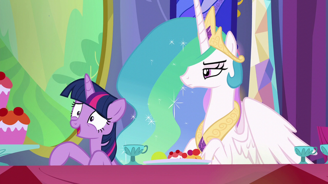 "File:Twilight Sparkle ""you're so funny!"" S6E6.png"