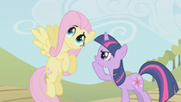Twilight has an idea for Fluttershy S2E1
