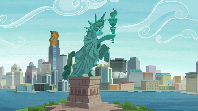 File:A statue inspired by the Statue of Liberty S6E3.png