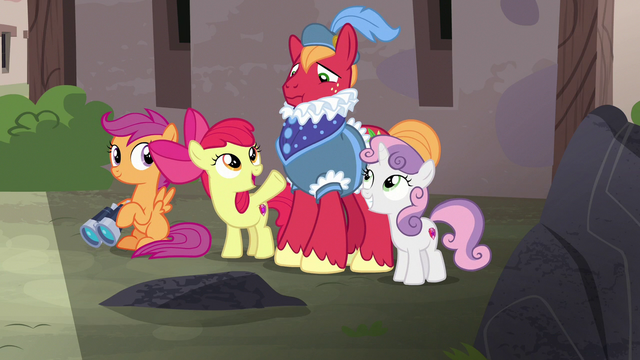 """File:Apple Bloom """"it's now or never, Big Mac!"""" S7E8.png"""
