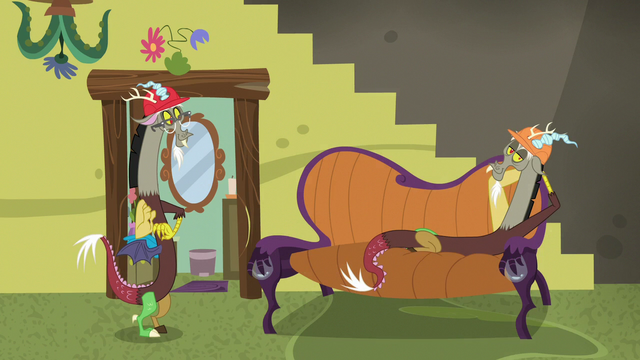 File:Discord's lounge chair appears on the floor S7E12.png