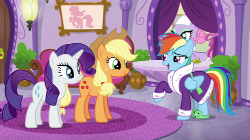 """Rainbow Dash """"I suppose I could take it"""" S6E10"""