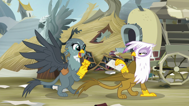 File:Gilda entrusts Gabby with her letter S6E19.png