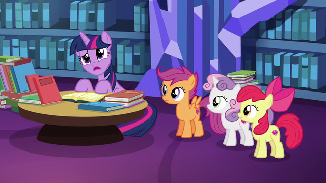 """File:Twilight Sparkle """"any creature other than a pony"""" S6E19.png"""