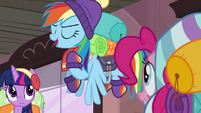 "Rainbow Dash ""if he messes with us"" S6E17"