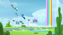 Wonderbolts create a boom of thunder S7E7