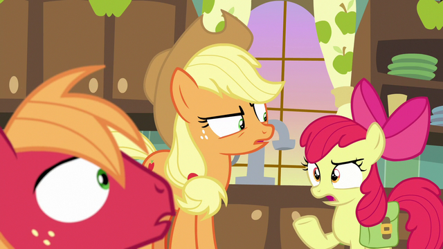 "File:Apple Bloom asks her siblings ""why?"" S7E13.png"