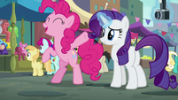 "Pinkie Pie ""can't wait to see the look on her face"" S6E3"