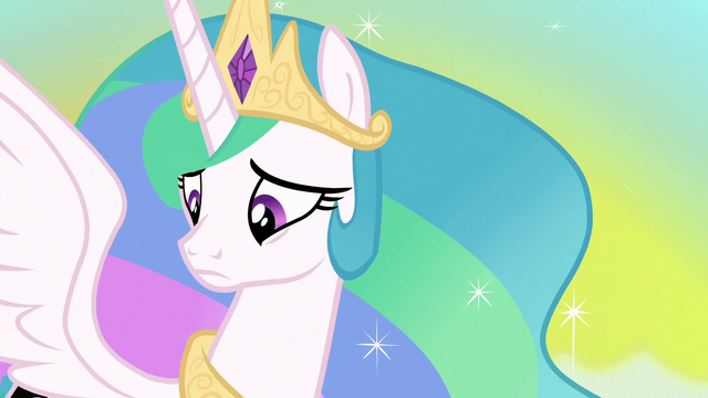 File:Princess Celestia looking at her cutie mark S7E10.png