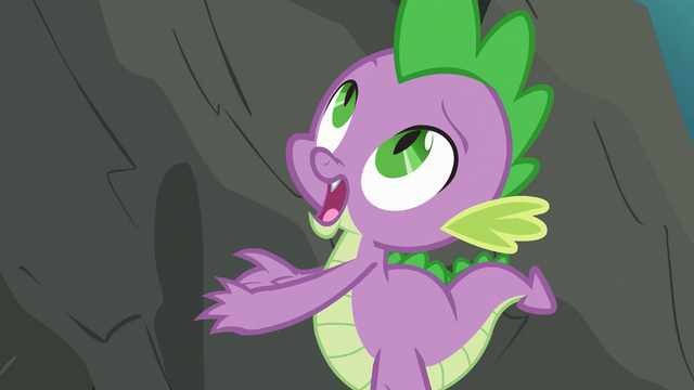 File:Spike looking at the cliff S3E9.png
