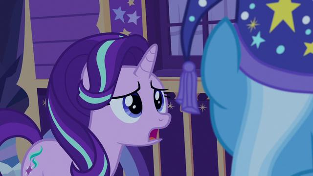 "File:Starlight Glimmer ""I think the...!"" S6E25.png"