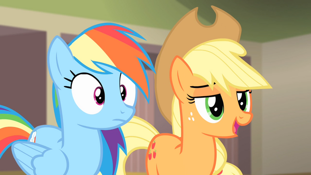 File:Applejack 'Yeah, you were pretty rotten' S4E08.png