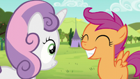 Scootaloo grinning S5E17