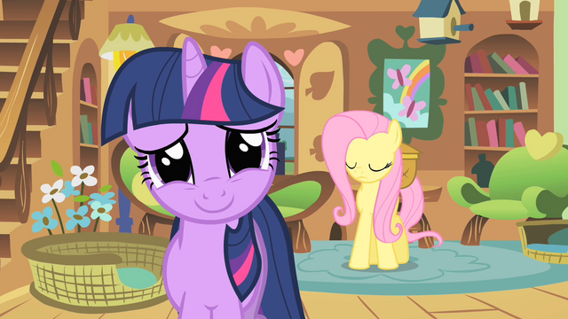 File:Twilight smiles nervously at royal guards S01E22.png