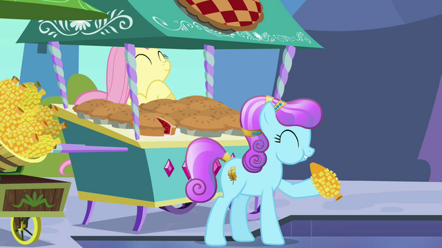 File:Fluttershy happy of her work S3E2.png