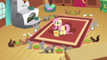 Fluttershy watching animals eat S2E19.png