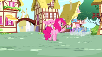 Pinkie Pie 'But what about the super party pony named Pinkie Pie' S4E12