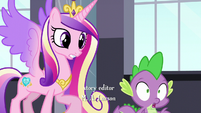 "Princess Cadance ""Spike, we need you!"""