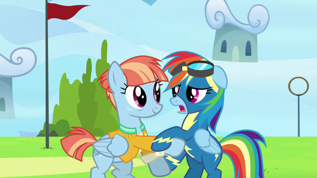 "File:Rainbow Dash ""how did you know I was here?"" S7E7.png"