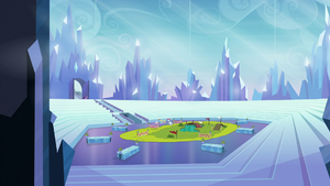 The Crystal Empire Stadium S3E12