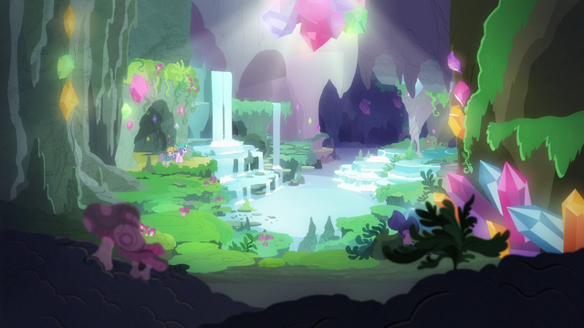 File:Waterfall grotto in the gem cave S7E4.png