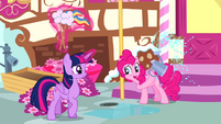 Pinkie Pie 'He obviously has what it takes' S4E12