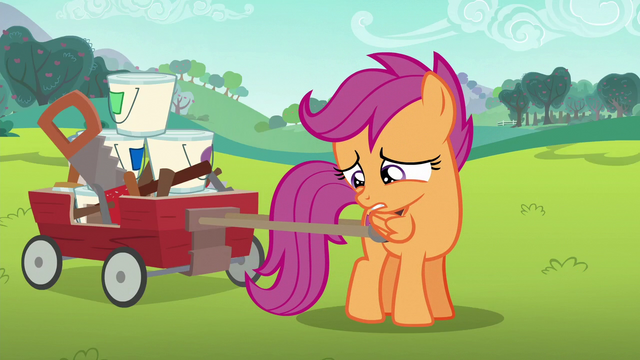File:Scootaloo tries to talk to Rainbow Dash S6E14.png
