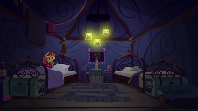 File:Sunset Shimmer discovers Twilight and Spike missing EG4.png