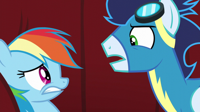 "File:Soarin ""but to ban you from the Wonderbolts forever"" S5E15.png"