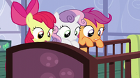 The CMC looks at the Cakes' babies S6E4