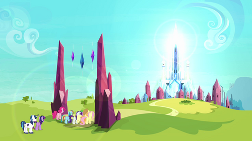 The ponies enter the Crystal Empire S3E01.png