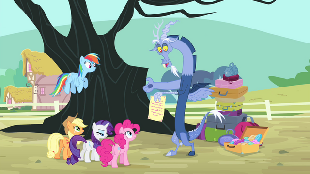 File:Discord presents a letter from Fluttershy S4E11.png
