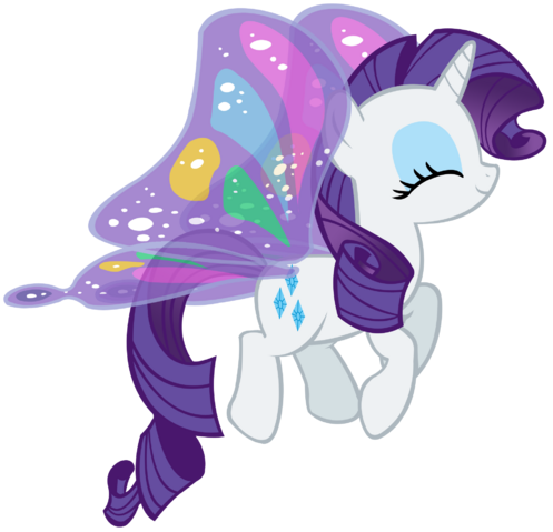 File:FANMADE Rarity butterfly.png