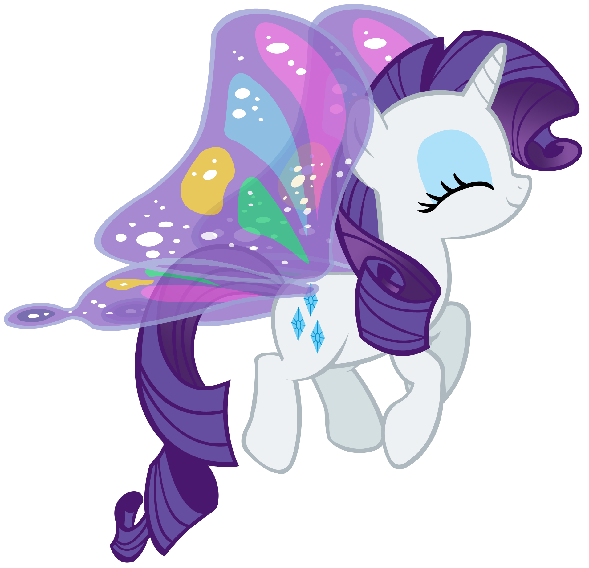 Image - FANMADE Rarity butterfly.png | My Little Pony ...