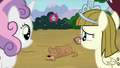 Sweetie Belle and Zipporwhill look at Ripley S7E6.png