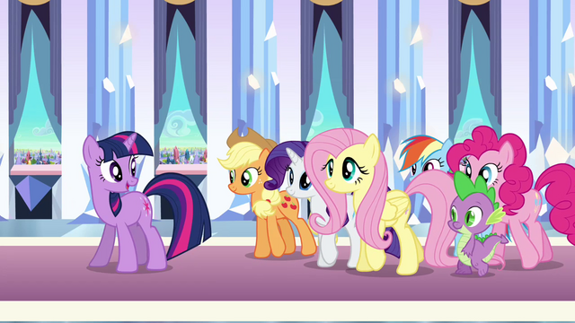 "File:Twilight ""That's why we're ALL here!"" S3E01.png"